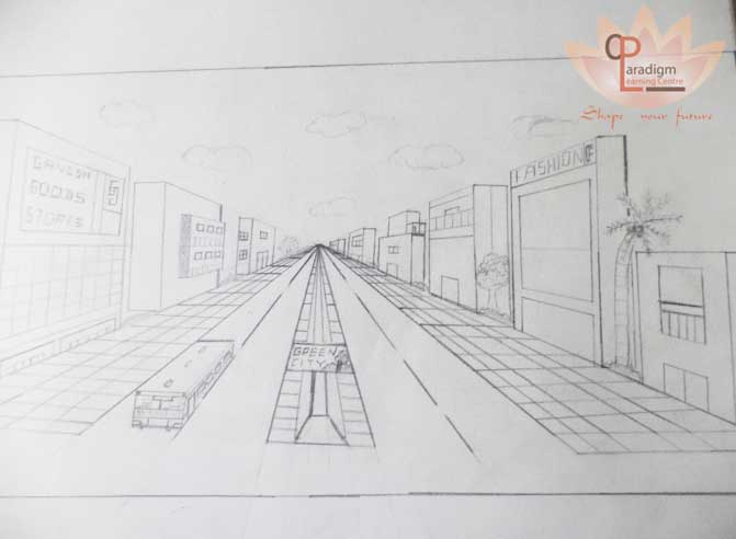 Sample architectural sketches are available in our coaching centre, PLC