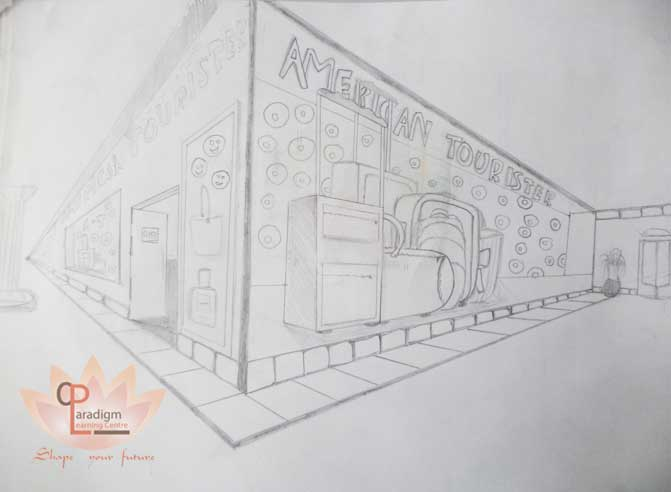 Architectural drawings of our NATA aspirant, PLC